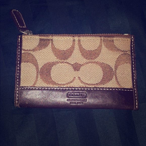 Coach Cardholder in brown